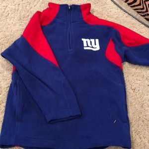 NY Giants Fleece Quarter zip